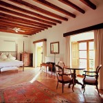 One of the numerous luxurious master bedrooms within this villa.